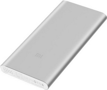 Внешний аккумулятор Xiaomi Mi Power Bank 2S (Silver) VXN 4231 GL аккумулятор red line r 3000 power bank 3000mah black ут000008703