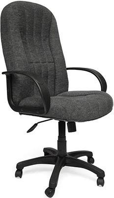 Кресло Tetchair СН833 (ткань/сетка серая/серая 207/12) кресло компьютерное tetchair энзо enzo доступные цвета обивки искусств чёрная кожа синяя сетка