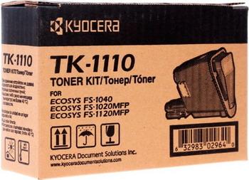 Картридж Kyocera TK-1110 картридж mak© tk 130 черный для лазерного принтера
