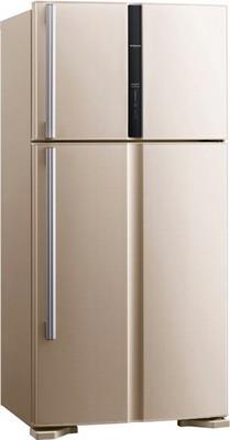 лучшая цена Двухкамерный холодильник Hitachi R-V 662 PU3 BEG бежевый