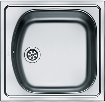 Кухонная мойка FRANKE ETN 610 1.5'' б/креп б/упл б/вып 101.0009.909 цена и фото