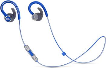 цена на Bluetooth-наушники (гарнитура) JBL REFLECT CONTOUR2 синий JBLREFCONTOUR2BLU