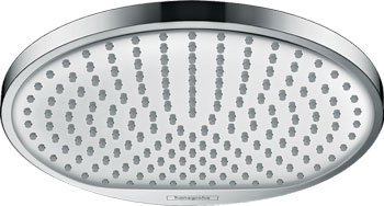 Верхний душ Hansgrohe Crometta S &#216 240 мм  1 режим  пластик  &#189 ''  18 л/мин 26 723 000