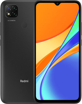 Смартфон Xiaomi Redmi 9C NFC RU 2/32 Midnight Gray