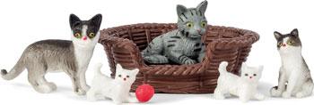 Набор животных Lundby Кошачья семья
