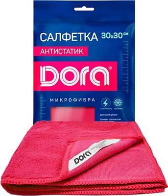 Для суxой или влажной уборки Dora Салфетка из микрофибры ''Антистатик'' салфетка из микрофибры qualita антипыль 1 мл