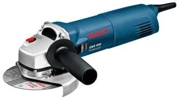 Угловая шлифовальная машина (болгарка) Bosch GWS 1000 0601821800 угловая шлифовальная машина bosch gws 19 125 ci [060179n002]