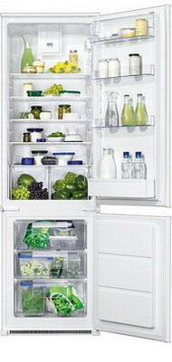 Встраиваемый двухкамерный холодильник Zanussi ZBB 928465 S фото