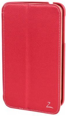 Чехол LAZARR iSlim Case для Samsung Galaxy Tab 3 7.0 красный обложка lazarr book cover для samsung galaxy tab 3 7 0 sm t 2100 2110 черный