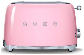 Тостер Smeg TSF 01 PKEU розовый тостер smeg tsf 02 rdeu красный