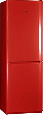 Двухкамерный холодильник Позис RK-139 рубиновый цена