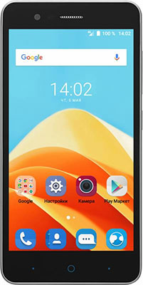 Смартфон ZTE Blade A510 серый смартфон zte blade a 510 серый