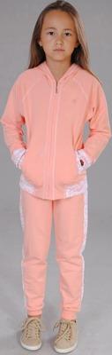 Куртка и брюки Fleur de Vie Арт. 24-0410 рост 134 персик комбинезон fleur de vie арт 14 8720 рост 122 персик