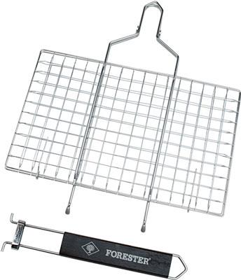 Решетка для барбекю Forester BQ-S 01М мангал с термостенками forester стационарный 54х34 см с решетками гриль bq 909