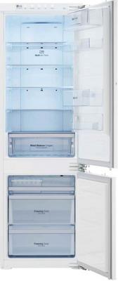 Встраиваемый двухкамерный холодильник LG GR-N 266 LLR холодильник lg gr h802hehz бежевый