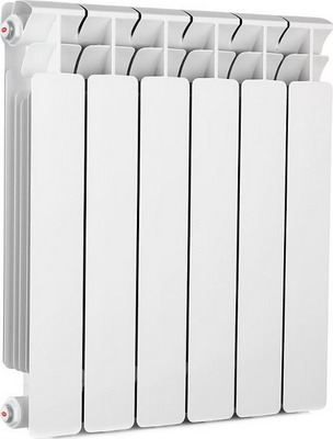 Водяной радиатор отопления RIFAR B 500 5 секц