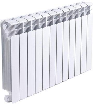 Водяной радиатор отопления RIFAR B 500 х12 сек НП лев (BVL) биметаллический радиатор rifar рифар b 500 5 сек кол во секций 5 мощность вт 1020