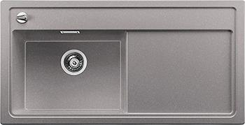 Кухонная мойка BLANCO 523911 ZENAR XL 6S-F чаша слева SILGRANIT алюметаллик с кл.-авт. InFino