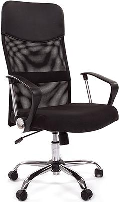 Офисное кресло Chairman 610 15-21 черный офисное кресло chairman 610 черный оранжевый