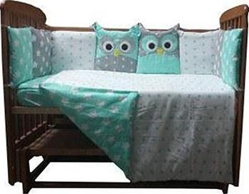 Комплект постельного белья Sweet Baby Uccellino Blu комплекты в кроватку makkaroni kids sweet baby 125x65 6 предметов