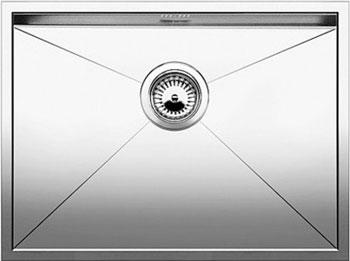 Кухонная мойка Blanco ZEROX 500-U нерж. сталь зеркальная полировка без клапана авт 521589 кухонная мойка blanco zerox 700 u нерж сталь зеркальная полировка без клапана авт 521593