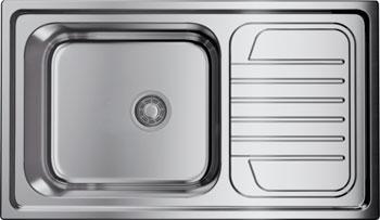 Кухонная мойка OMOIKIRI Haruna 86-IN нерж.сталь/нержавеющая сталь 4993451