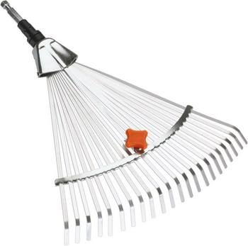Грабли Gardena стальные веерные регулируемые (насадка для комбисистемы) 03103-20 грабли веерные проволочные без черенка росток