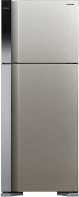 лучшая цена Двухкамерный холодильник Hitachi R-V 542 PU7 BSL серебристый бриллиант