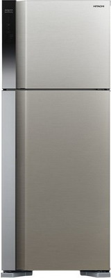 Двухкамерный холодильник Hitachi R-V 542 PU7 BSL серебристый бриллиант