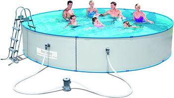 Бассейн BestWay Hydrium Splasher Pool Set 460х90 14110 л 56386 BW цена