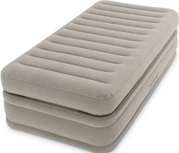 Кровать надувная Intex Comfort Elevated Airbed 99х191х51 встроенный насос 220 V 64444 цена