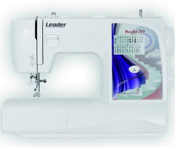 Швейная машина Leader NewArt 200 швейная машина leader vs 318 4640005570144