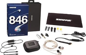 Фото - Вставные наушники Shure SE 846-CL BT1-EFS прозрачный вставные наушники shure se 846 bnz bt1 efs бронзовый
