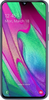 Смартфон Samsung Galaxy A40 32GB SM-A405F (2019) черный смартфон samsung galaxy s7 sm g930f 32gb black