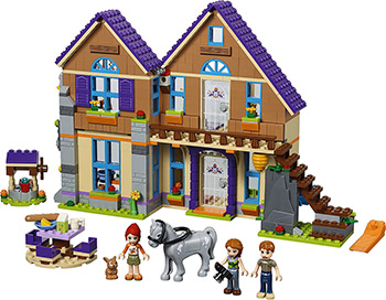 Конструктор Lego FRIENDS Дом Мии 41369 lego friends ластик 4 шт 51608
