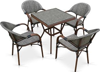 Комплект мебели Афина T 130/C 029-TX 70 x 70 4Pcs крестильный комплект арго 029 б