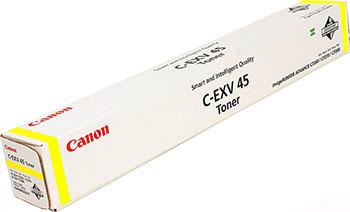 Тонер-картридж Canon C-EXV 45 Y 6948 B 002 Жёлтый