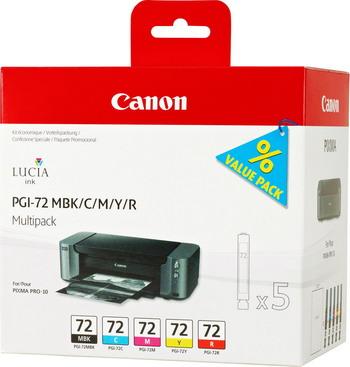 Фото - Набор картриджей Canon PGI-72 MBK/C/M/Y/R Multi Pack 6402 B 009 бра maytoni arm420 01 r
