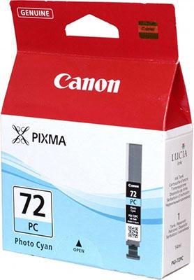 Фото - Картридж Canon PGI-72 PC 6407 B 001 Голубой вытяжка kaiser at 6407 n fw