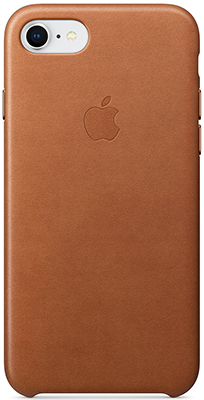 Фото - Кожаный чехол Apple Leather Case для iPhone 8/7 цвет (Saddle Brown) золотисто-коричневый MQH72ZM/A чехол для apple iphone 8 apple iphone 7 apple iphone 6 6s plasma series case для iphone 6s 7 8