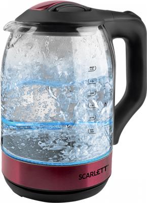 Чайник электрический Scarlett SC-EK27G44 гранатовый armajuice сок гранатовый 0 33 л