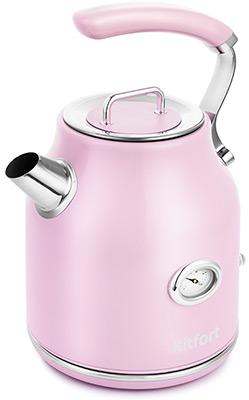 Фото - Чайник электрический Kitfort KT-663-3 чайник kitfort kt 642 1 розовый 2200 вт 1 7 л