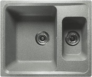 Кухонная мойка Lex Zurich 590 Space Gray цена и фото