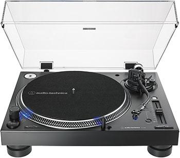 Проигрыватель виниловых дисков Audio-Technica AT-LP140XPBKE проигрыватель виниловых дисков audio technica at lp140xpsve