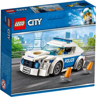 Конструктор Lego Автомобиль полицейского патруля 60239 конструктор city lego lego mp002xb00c9t