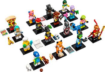 цена на Конструктор Lego Minifigures Минифигурки LEGO: Серия 19 71025
