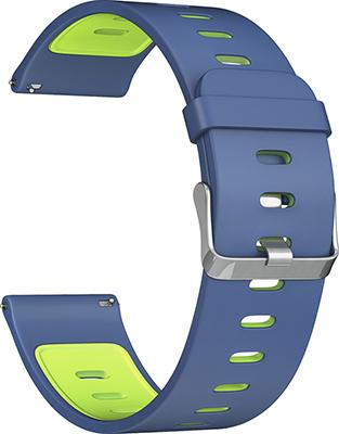 Ремешок для часов Lyambda универсальный для часов 22 mm ADHARA DS-GS-08-22-BG Blue/Green dwt ds 250 gs