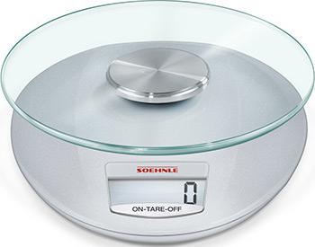 Кухонные весы Soehnle Roma (серебр.) кухонные весы soehnle page compact 300 бел