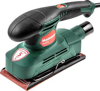 Вибрационная шлифовальная машина Hammer Flex PSM180 180Вт шлифовальная машина hammer osm430 flex