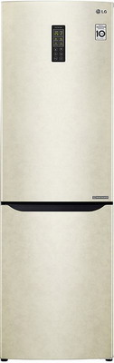 Двухкамерный холодильник LG GA-B 419 SEUL бежевый